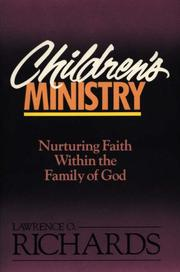 Cover of: Children's ministry