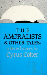 Cover of: The amoralists & other tales
