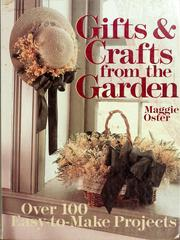 Cover of: Gifts & crafts from the garden