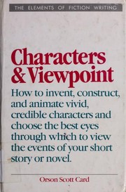 Cover of: Characters and viewpoint