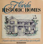 Cover of: Florida historic homes