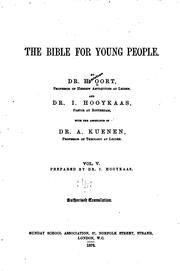 Cover of: The Bible for Young People