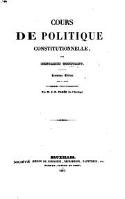 Cover of: Principes de politique applicables à tous les gouvernements