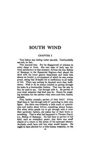 Cover of: South Wind