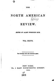 Cover of: The North American Review