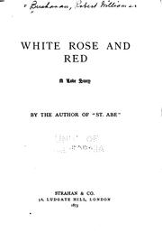 Cover of: White Rose and Red: A Love Story