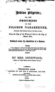 Cover of: The Indian Pilgrim, Or, The Progress of the Pilgrim Nazareenee: (formerly ...