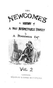 Cover of: The Newcomes : memoirs of a most respectable family