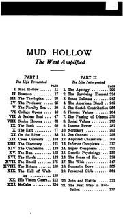 Cover of: Mud Hollow: from dust to soul