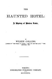 Cover of: The haunted hotel: A Mystery of Modern Venice