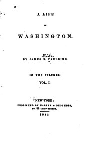 Cover of: A Life of Washington