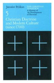 Cover of: Christian doctrine and modern culture (since 1700)
