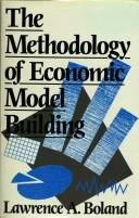 Cover of: The methodology of economic model building