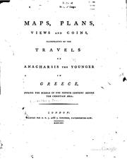 Cover of: Maps, Plans, Views and Coins, Illustrative of the Travels of Anacharsis the ...