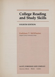Cover of: College reading and study skills