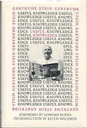 Cover of: Useful knowledge