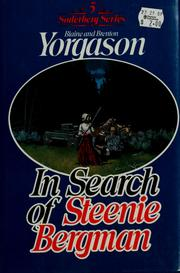 Cover of: In search of Steenie Bergman