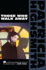 Cover of: Those who walk away