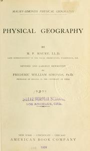 Cover of: ... Physical Geography