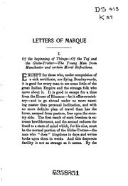 Cover of: Letters of Marque: A Novel