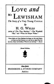 Cover of: Love and Mr. Lewisham;the Story of a Very Young Couple