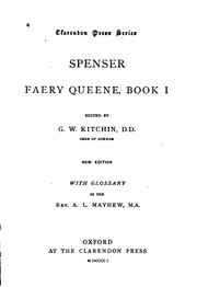 Cover of: Faery Queene: Book I