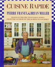 Cover of: Cuisine rapide: a classic cookbook from the 60-minute gourmet