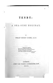Cover of: Tenby: a seaside holiday