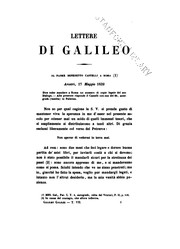 Cover of: Le opere di Galileo Galilei