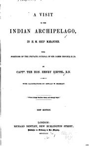Cover of: A Visit to the Indian Archipelago, in H.M. Ship Mæander: With Portions of ...