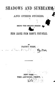 Cover of: Shadows and Sunbeams and Other Stories