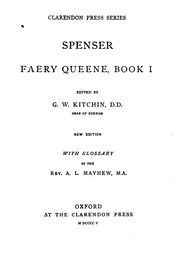 Cover of: Faery Queene, Book I