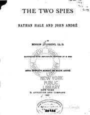 Cover of: The Two Spies: Nathan Hale and John André
