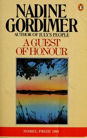 Cover of: A Guest of Honour