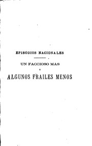 Cover of: Episodios nacionales