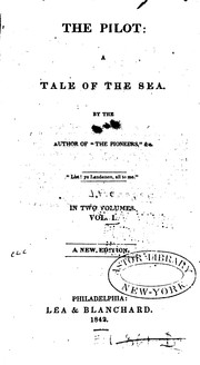 Cover of: The Pilot: A Tale of the Sea