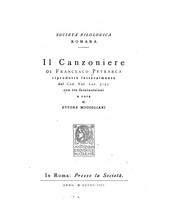 Cover of: Il canzoniere