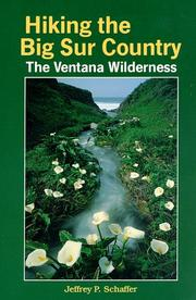 Cover of: Hiking the Big Sur Country: the Ventana Wilderness
