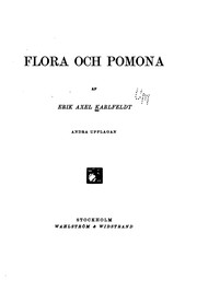 Cover of: Flora och Pomona