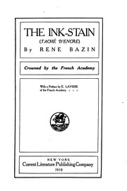 Cover of: The Ink-stain (Taché D'encre)