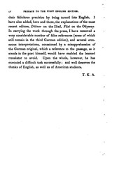Cover of: A Complete Greek and English Lexicon for the Poems of Homer and the Homeridae: Illustrating the ...