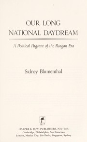 Cover of: Our Long National Daydream