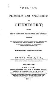 Cover of: Principles and Applications of Chemistry