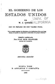 Cover of: El gobierno de los Estados Unidos