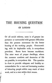 Cover of: The Housing Question