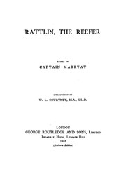 Cover of: Rattlin, The Reefer