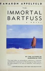 Cover of: The immortal Bartfuss