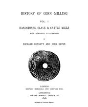Cover of: History of Corn Milling ...