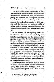 Cover of: An Essay on Aquatic Rights: Intended as an Illustration of the Law Relative to Fishing, and to ..