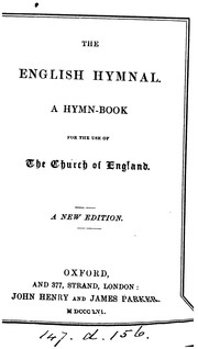 Cover of: The English hymnal
